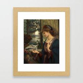 Love's Messenger Framed Art Print
