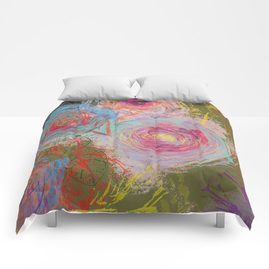 Floral abstract(38) Comforters