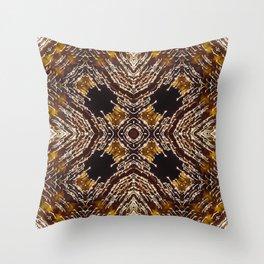 Illuminated kaleidoscope Throw Pillow