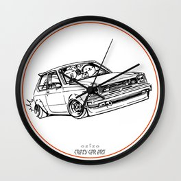Crazy Car Art 0194 Wall Clock