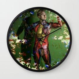Mr. Apologetico Wall Clock