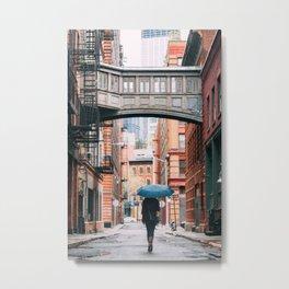 Staple Street Stranger Metal Print