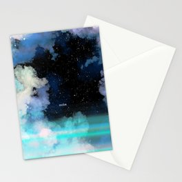 Evolve In Blue Stationery Cards