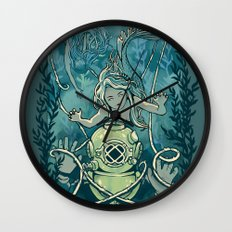 s'accrocher à l'amour Wall Clock
