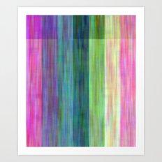 Big Wild Stripes Art Print