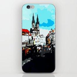 Prague Praha iPhone Skin