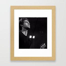 L HEMMINGS CLEVELAND Framed Art Print