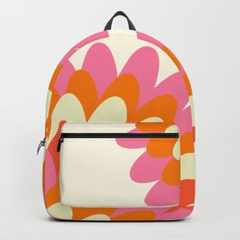 Dahlia at 60's Backpack
