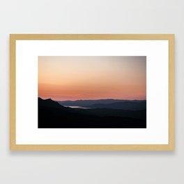 Cala di sole Framed Art Print