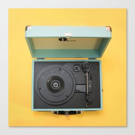 Lionel's Record Player Canvas Print