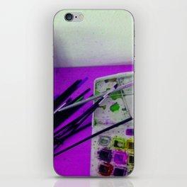 Aquarell und Digital iPhone Skin