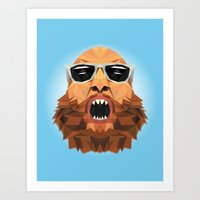 action bronson Art Prints featuring Action Bronson by Alex89er