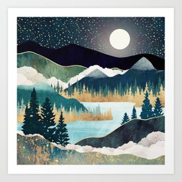 Star Lake Art Print