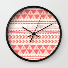 Winter Stripe II Wall Clock