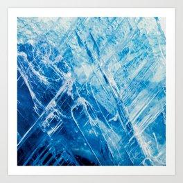 Blue Kyanite Art Print