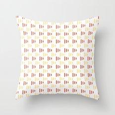 Summer flags Throw Pillow