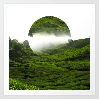 Green Haven Art Print