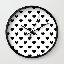White And Black Wall Clock