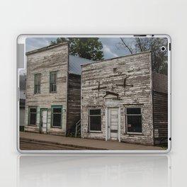 Main Street False Fronts, Kathryn, North Dakota Laptop & iPad Skin