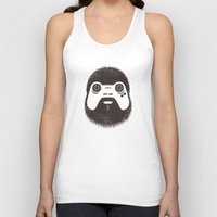 gamer Tank Tops featuring The Gamer by powerpig