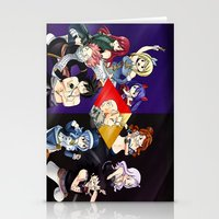fairy tail Stationery Cards featuring Fairy Tail Chapter 440 by Minty Cocoa