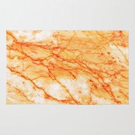 Orange Marble Rug