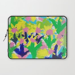 Impressionistic Daisies in the Garden Laptop Sleeve