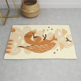 The Flying Fox's First Flight Rug