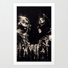 VERSUS Art Print