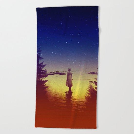 Wander Night Noise Beach Towel