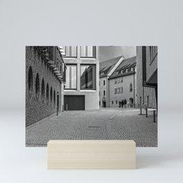 Fishermensquarter Ulm / Streetphotography Mini Art Print