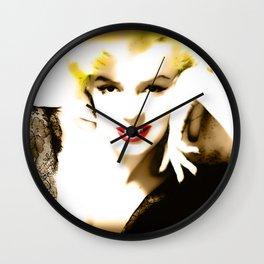Portrait of  Marilyn Monroe Wall Clock