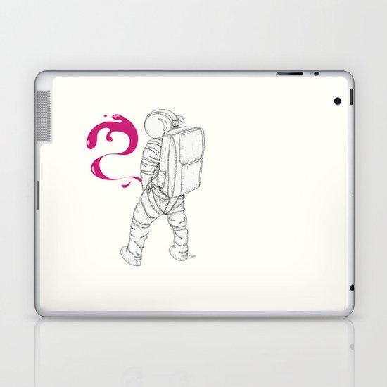P{ee}ink in Space Laptop & iPad Skin