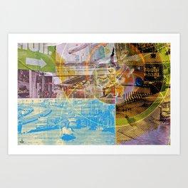Collateral^2ndHand°FloodNewz Art Print