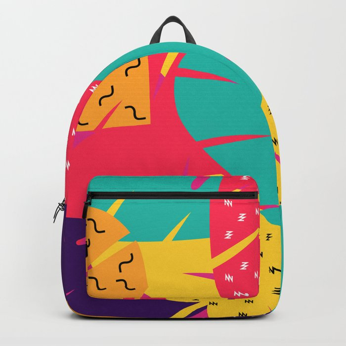 Retro leaves Backpack