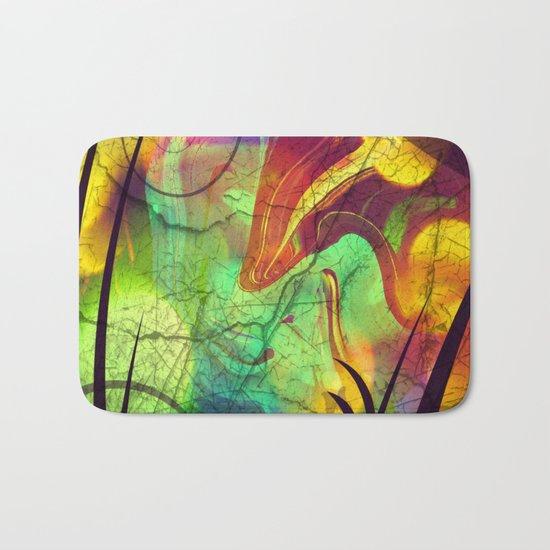 Opalescent Alien View Bath Mat