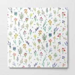 Garden Bouquets Metal Print