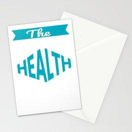 The Legendary Health Teacher Retirement Gift Design Stationery Cards