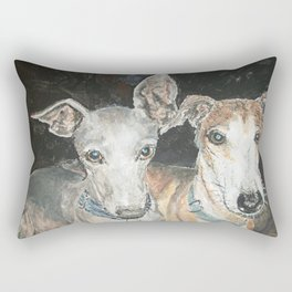 Cuddly Canines Rectangular Pillow