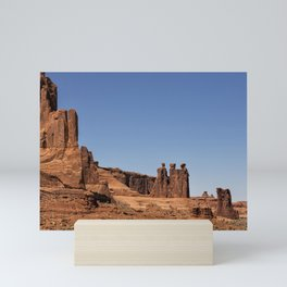 Three Gossips - Arches National Park Mini Art Print