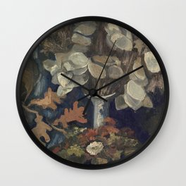Vincent Van Gogh - Vase with Lunaria, 1884 Wall Clock