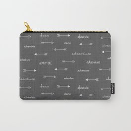 Adventure Arrows Grey Carry-All Pouch