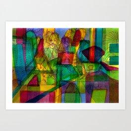Bojhow Art Print