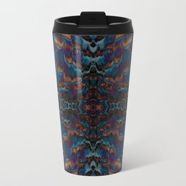 Feather fusion geometry VI Travel Mug