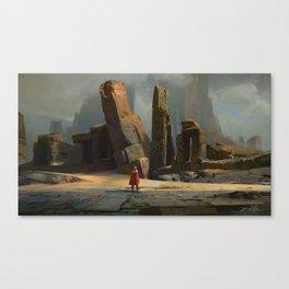 Crypt Kingdom Canvas Print