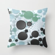 :: Overcast Day at the Beach :: Throw Pillow