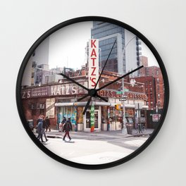 Katz IV Wall Clock