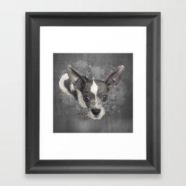 LiAM (puffy cloud) Framed Art Print
