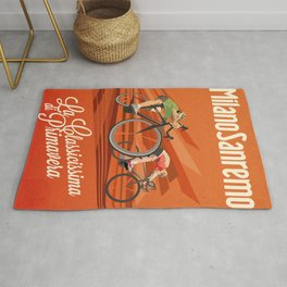 Milan San Remo cycling classic Rug