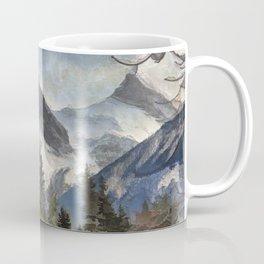 The Three Sisters - Canadian Rocky Mountains Coffee Mug